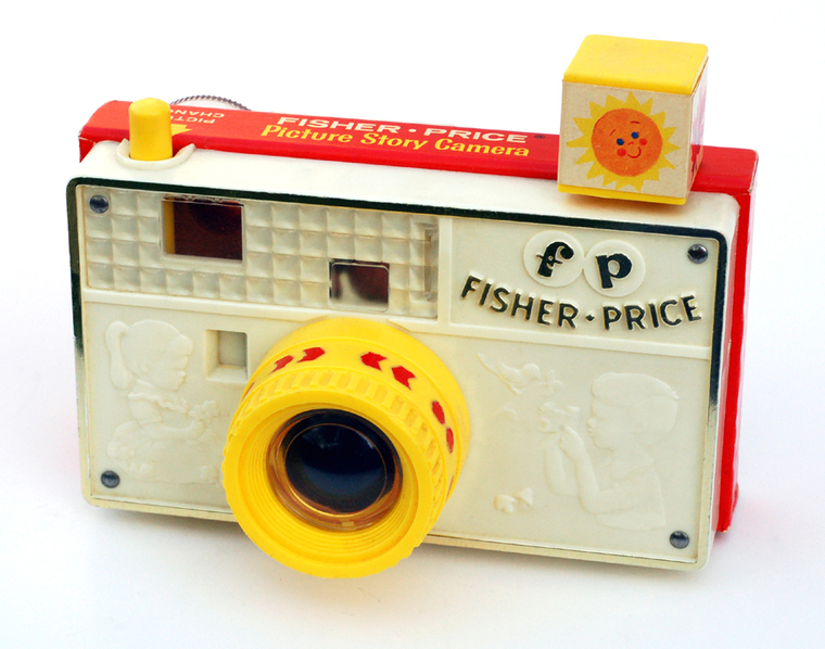 Thumb fisher price picture story camera