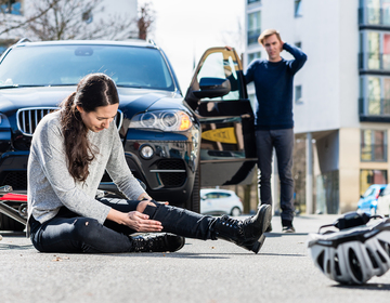 Thumb bicycle accident lawyer las vegas