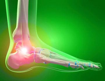 Thumb thumb ankle foot injury