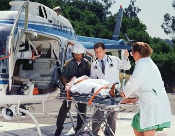 Thumb helicopter crash